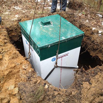 Установка автономной канализации под ключ