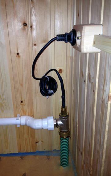 Водонагревательный кабель для труб